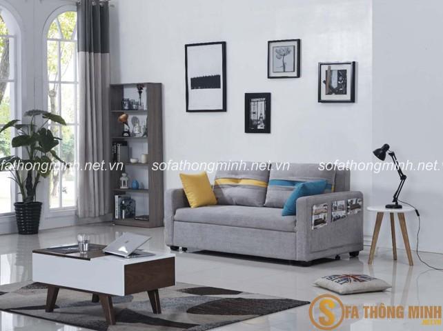 màu sắc phù hợp cho sofa giường thông minh cho phòng khách của gia đình