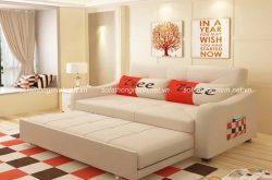 Sofa giường 2 trong 1 cho nội thất phòng khách đa năng và hiện đại