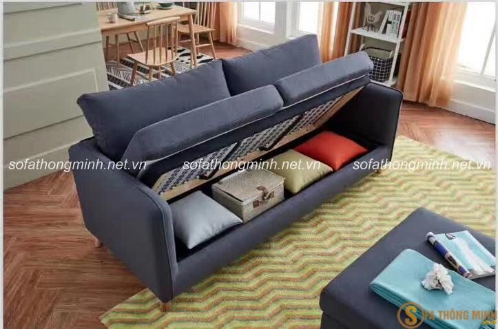 Sofa giường cao cấp - Ưu tiên lựa chọn làm sofa phòng khách tại nhiều gia đình