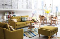 Sử dụng sofa giường đa năng và bàn trà thông minh cho phòng khách
