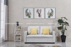 Sofa giường màu trắng – Lựa chọn hoàn hảo cho phòng khách thanh lịch và sang trọng