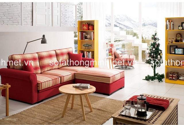 Sử dụng sofa giường góc thông minh - Xu hướng nội thất hiện đại năm 2018