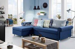 Chọn sofa giường góc L cho phòng khách chung cư hiện đại
