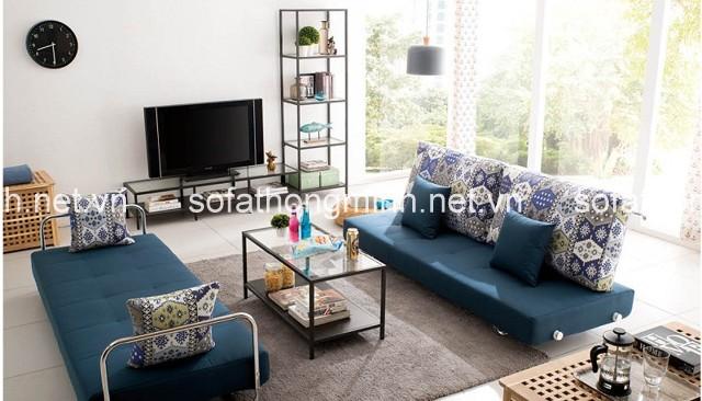 sofa giường đang trở thành một món đồ nội thất trang trí