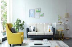 Kinh nghiệm chọn sofa nhỏ thông minh cho phòng khách của gia đình