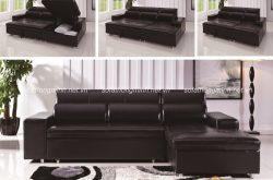 Thêm mẫu sofa giường bằng da mang đến tiện nghi cho gia đình bạn