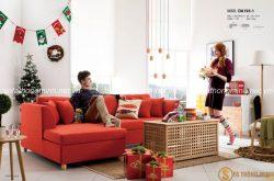 Lựa chọn những mẫu sofa đỏ cho phòng khách ấn tượng và nổi bật