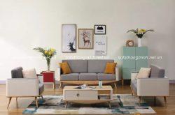 Tại sao nên chọn sofa gỗ cho phòng khách thêm mộc mại và ấn tượng