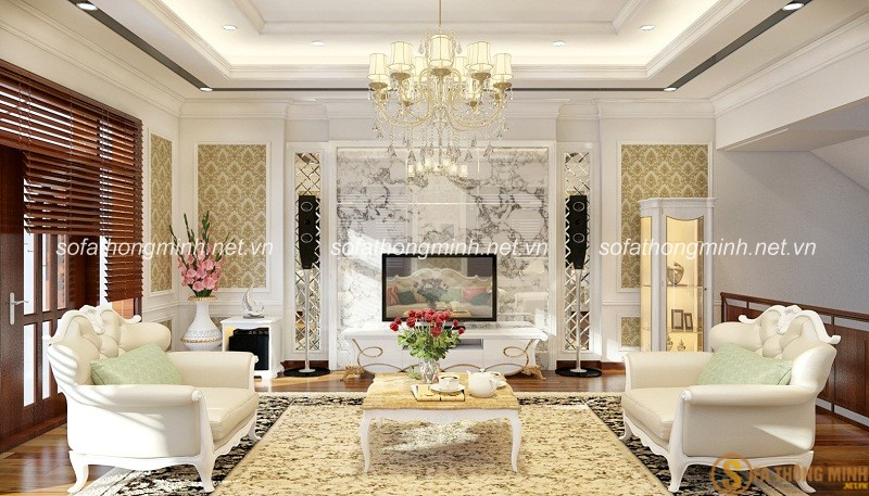 Các mẫu sofa phòng khách với mẫu mã, kiểu dáng, ngày càng được nhiều khách hàng lựa chọn