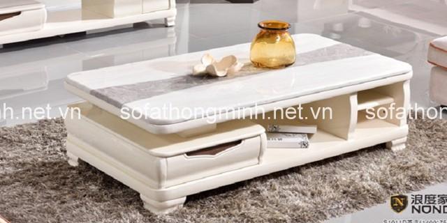 các mẫu bàn trà mặt đá nhập khẩu được rất nhiều khách hàng lựa chọn trong thiết kế nội thất phòng khách