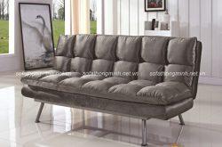 Sử dụng sofa da thật cao cấp cho phòng khách đẹp sang trọng và độ bền cao